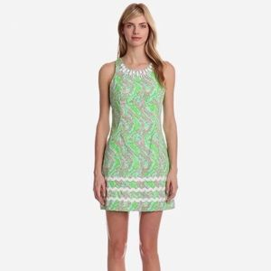 Lilly Pulitzer Pearl Shift Dress in Chomp Shorely
